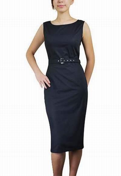9c1a5b7fed6 robe noire ceinture rouge